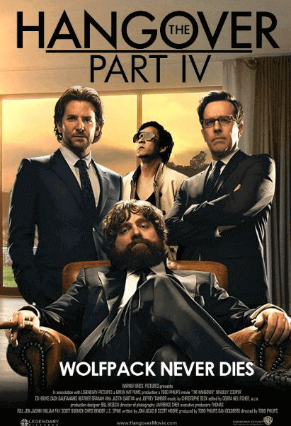 The Hangover Part 1, 2, 3