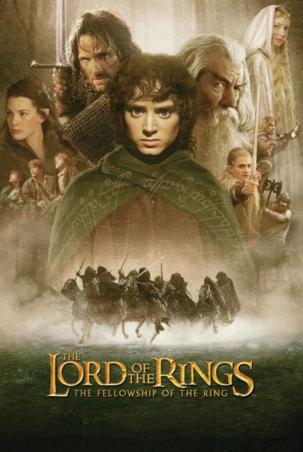 The Lord Of The Rings 1, 2, 3