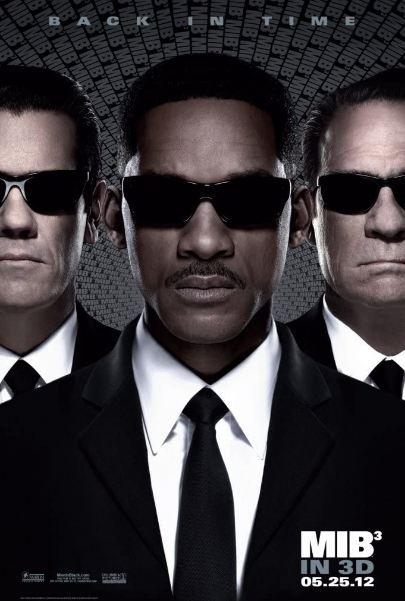 Men In Black 1, 2, 3