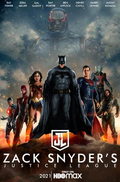 justice league: Zack Snyder's