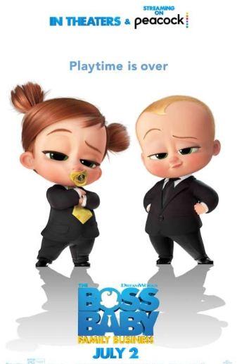 The Boss Baby 2 & 1